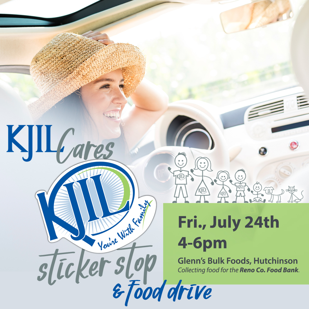 KJIL Sticker Stop Food Drive