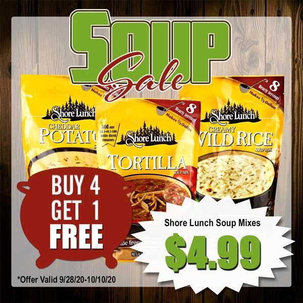 Shore Lunch Soup Mix Sale