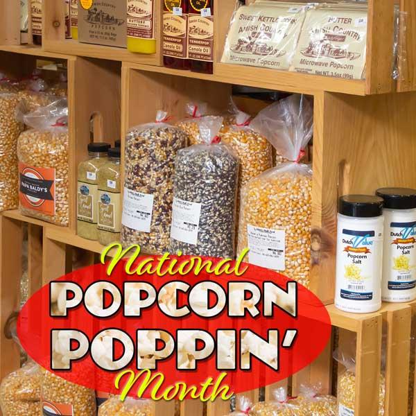 Popcorn Month