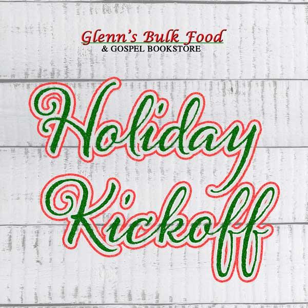 Holiday Kickoff