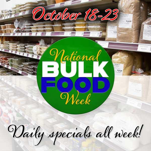 National Bulk Food Week October 18-23